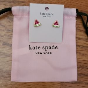 Kate Spade Picnic Perfect Watermelon Studs